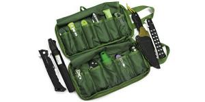 Brutalica 13+2 knives bag olive