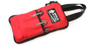 Brutalica 13+2 knives bag red