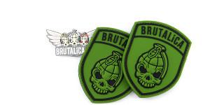 Brutalica Army PVC 70x90mm Patch
