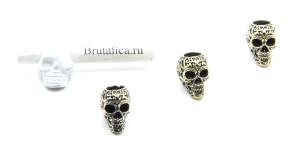 Tattoo Skull Brass