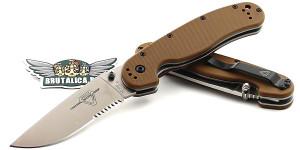 Ontario RAT-1 ON8849CB Serrated/Brown