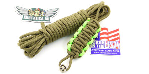Шнур Paracord Coyote Brown