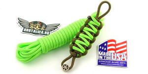 Шнур Paracord Neon Green