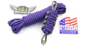 Шнур Paracord Purple (фиолетовый паракорд)
