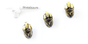 Spartan Helmet Brass