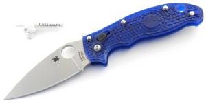 Spyderco Manix 2 BD-1 Blue