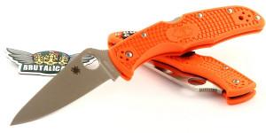 Spyderco Endura Flat Ground Orange