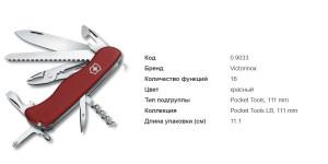 Victorinox 0.9033 Atlas Red