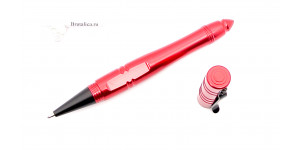 Shrade 2 Tactical  Pen RED